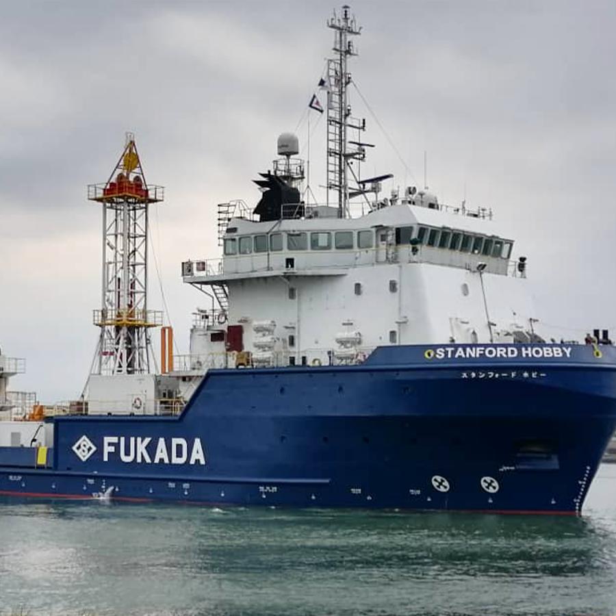fukuda drill ship